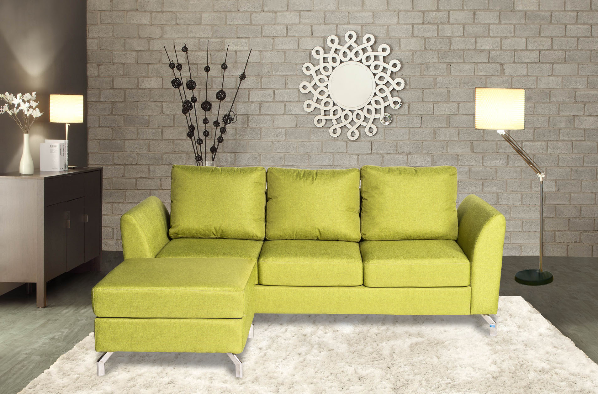 Sofa nỉ SF46